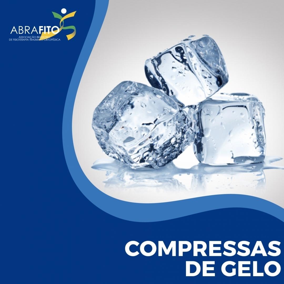 Compressas de Gelo