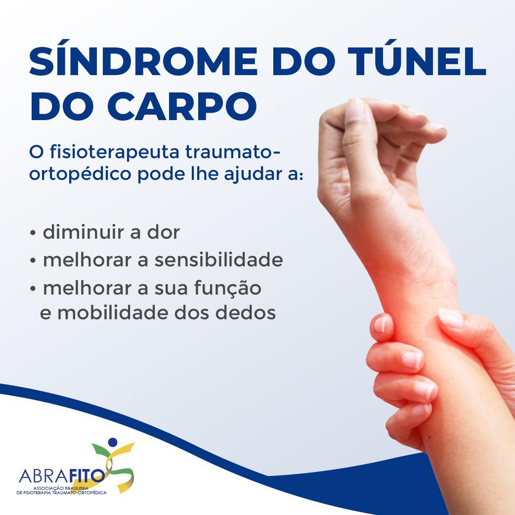 Síndrome do Túnel do Carpo